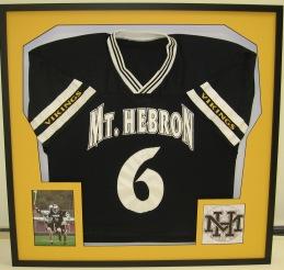 Waverly Custom Framing & Art Gallery Custom Framed Sports Jersey