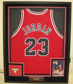 Waverly Custom Framing & Art Gallery Custom Framed Jordan 23 Jersey